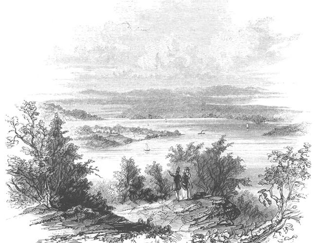 ảnh vẽ bút chì phong cảnh vùng đất
