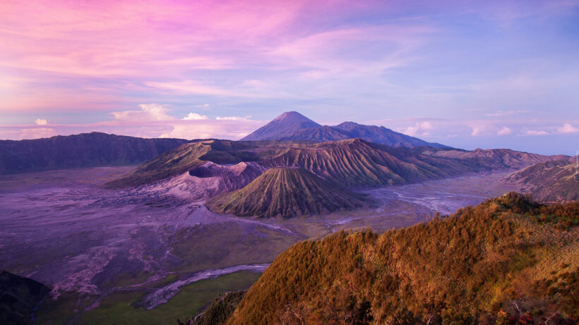 cảnh đẹp tuyệt vời của vùng đất núi lửa