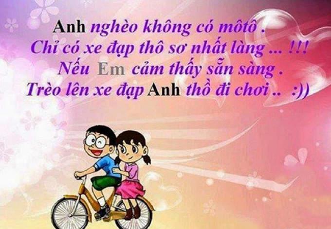 hình ảnh nobita tình yêu có chữ