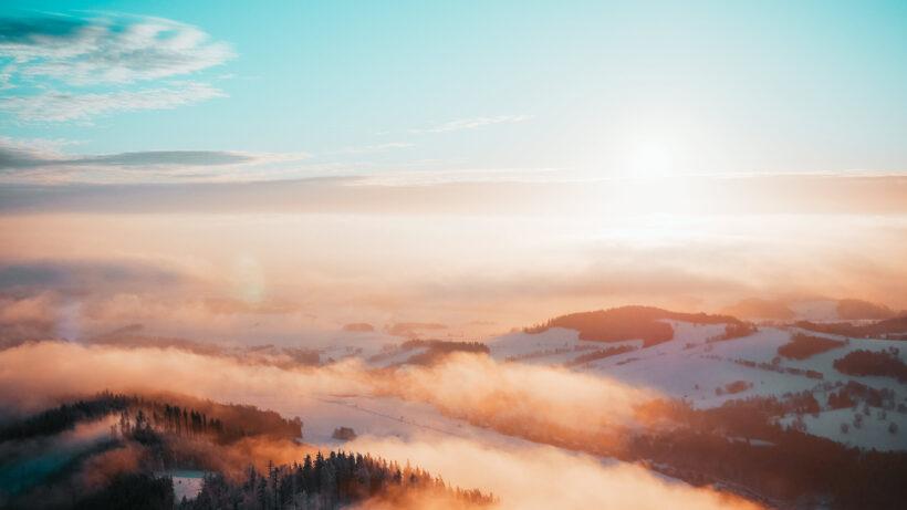 hình ảnh phong cảnh đẹp mùa đông
