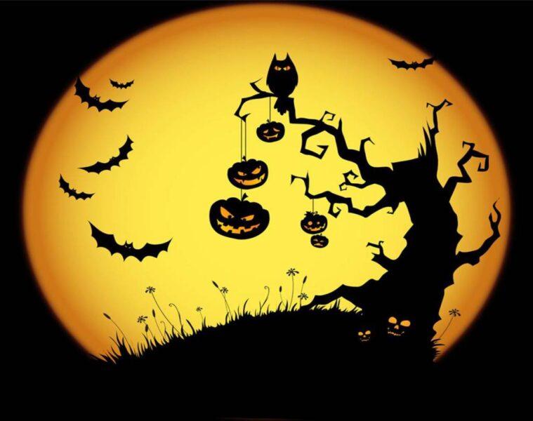 hình ảnh vẽ Halloween rùng rợn