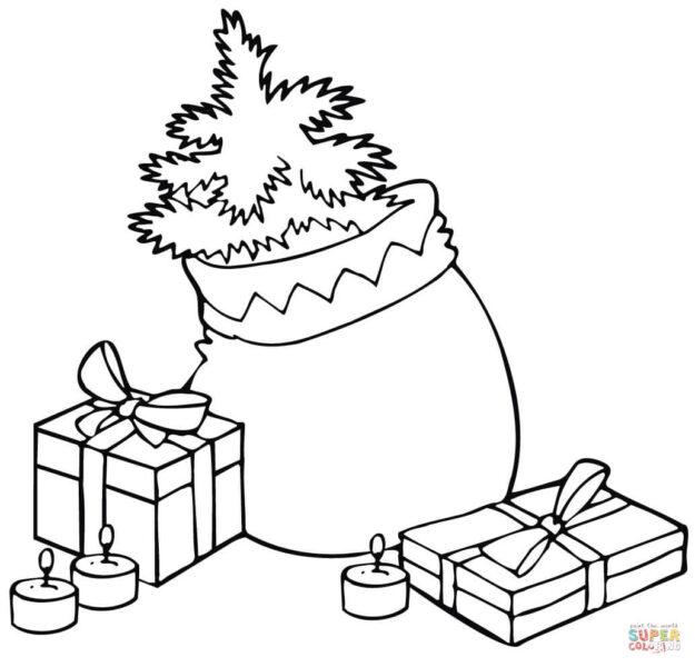 Hình tập tô màu hộp quà cho bé (1)