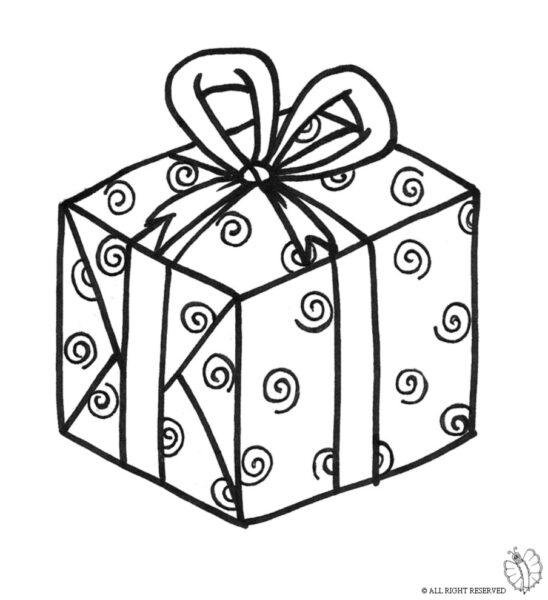 Hình tập tô màu hộp quà cho bé (6)