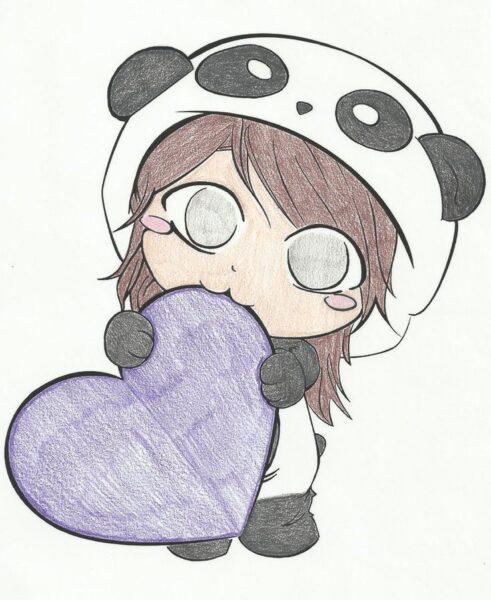 hình vẽ chibi đáng yêu cute
