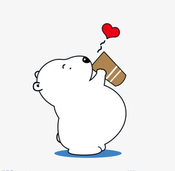 hình vẽ đơn giản chú gấu cute