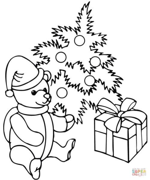 Tải tranh tô màu hộp quà (2)