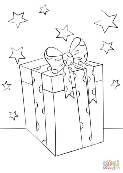 Tổng hợp tranh tô màu hộp quà đẹp cho bé (6)