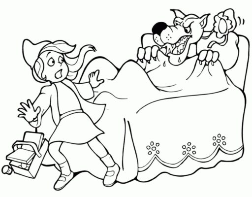 Little Red Riding Hood Coloring Pages Free Az Coloring Pages with Little Red Riding Hood Coloring Pages