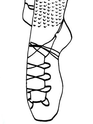 Tranh tô màu đôi dép đẹp để bé học tập tô (29)