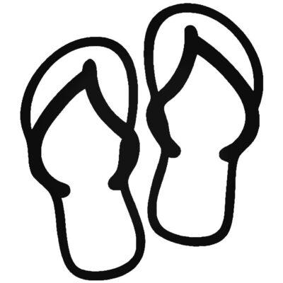 Tranh tô màu đôi dép đẹp để bé học tập tô (7)