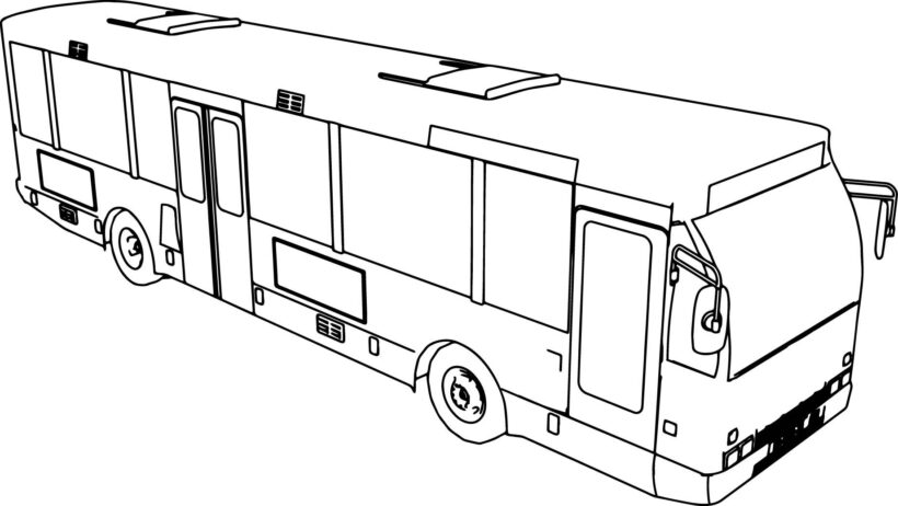 tayo coloring pages Lovely Tayo the Little Bus Coloring Pages Inspirational Bus Coloring Page