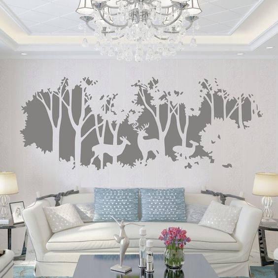 tranh tường đơn giản đẹp mắt nghệ thuật