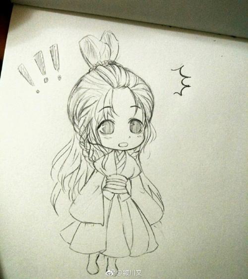 tranh vẽ bút chì nhân vật hoạt hình