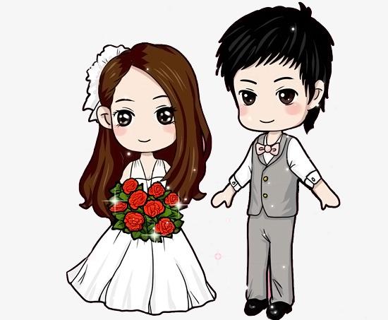 ảnh avatar cô dâu chú rể