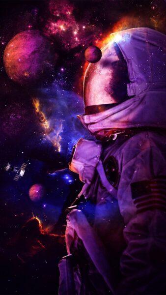 ảnh nền nhà du hành vũ trụ cho smartphone