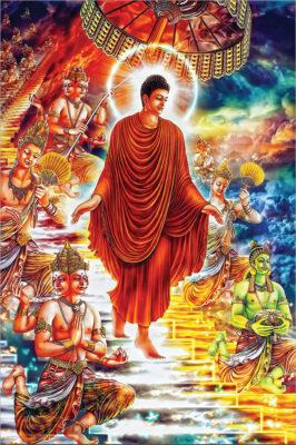 Bộ ảnh Phật Thích Ca Mô Ni từ khi đản sinh đến niết bàn (1)