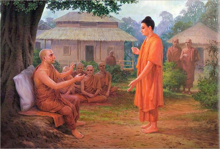 Bộ ảnh Phật Thích Ca Mô Ni từ khi đản sinh đến niết bàn (12)