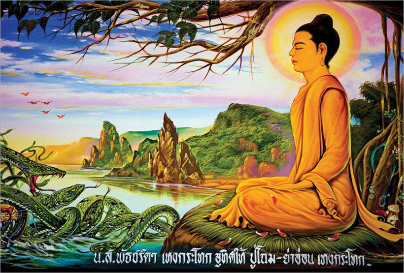 Bộ ảnh Phật Thích Ca Mô Ni từ khi đản sinh đến niết bàn (16)