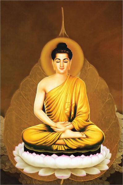 Bộ ảnh Phật Thích Ca Mô Ni từ khi đản sinh đến niết bàn (20)