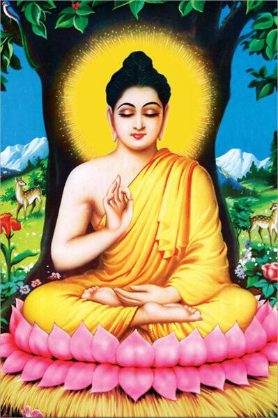 Bộ ảnh Phật Thích Ca Mô Ni từ khi đản sinh đến niết bàn (21)