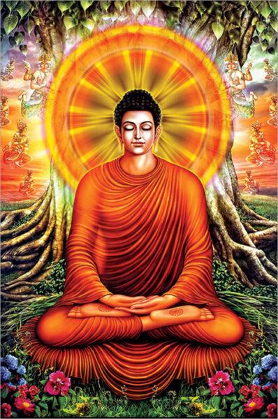 Bộ ảnh Phật Thích Ca Mô Ni từ khi đản sinh đến niết bàn (24)