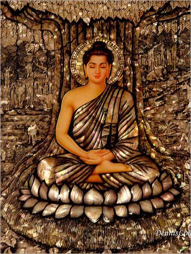Bộ ảnh Phật Thích Ca Mô Ni từ khi đản sinh đến niết bàn (26)