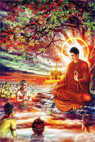 Bộ ảnh Phật Thích Ca Mô Ni từ khi đản sinh đến niết bàn (29)