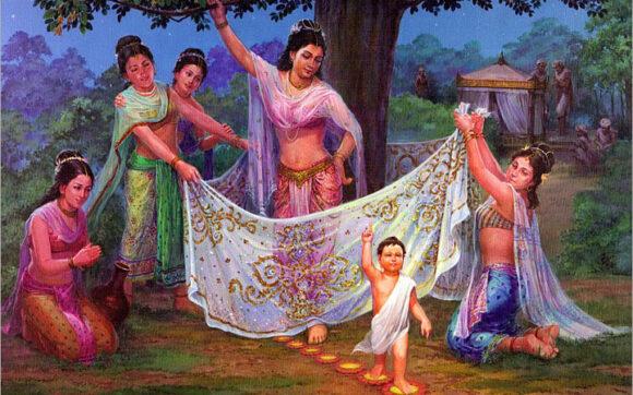 Bộ ảnh Phật Thích Ca Mô Ni từ khi đản sinh đến niết bàn (3)