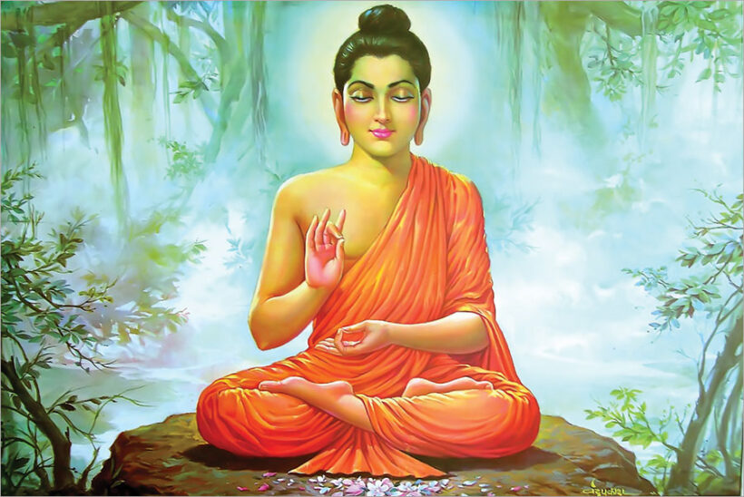 Bộ ảnh Phật Thích Ca Mô Ni từ khi đản sinh đến niết bàn (32)
