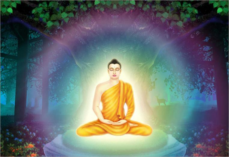 Bộ ảnh Phật Thích Ca Mô Ni từ khi đản sinh đến niết bàn (35)