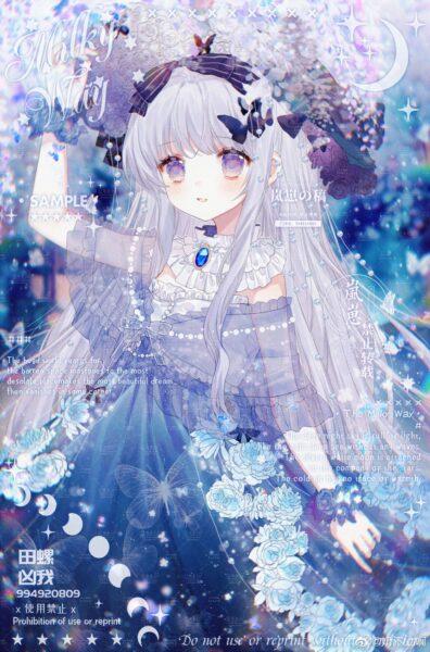 các hình ảnh công chúa anime đẹp nhất