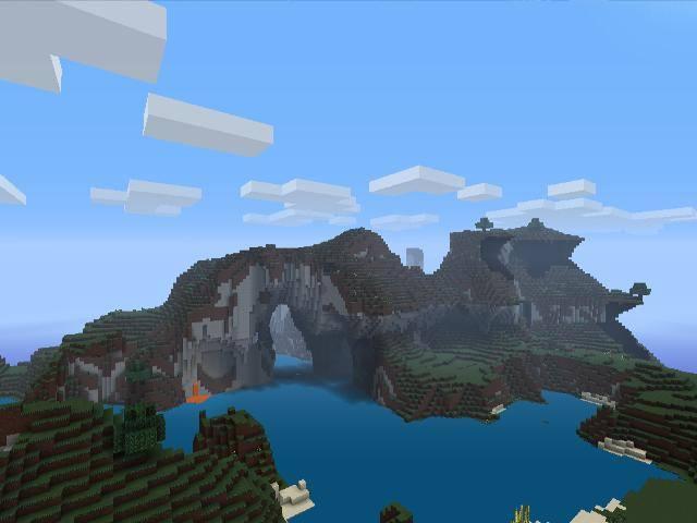 cảnh đẹp trong minecraft