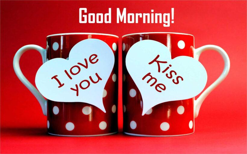 hình ảnh chúc buổi sáng dễ thương dành cho cặp đôi yêu nhau