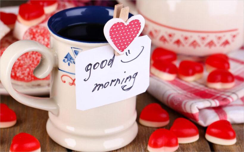 hình ảnh chúc buổi sáng đẹp và lãng mạn