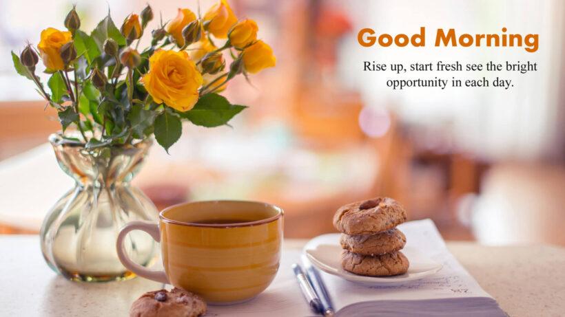 hình ảnh chúc buổi sáng tốt lành và động lực