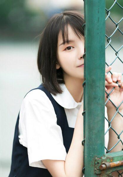 hình ảnh con gái tóc ngắn dễ thương
