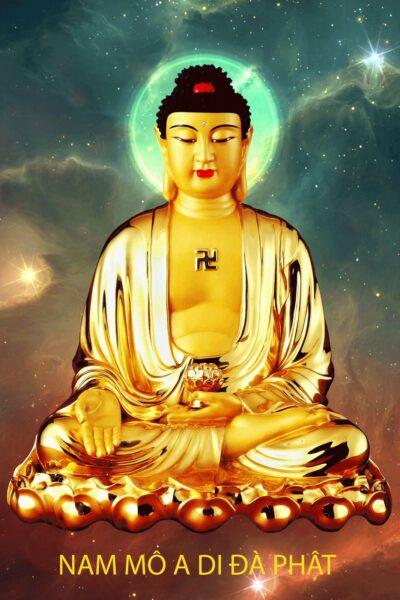 hình ảnh đẹp Phật A Di Đà cho điện thoại