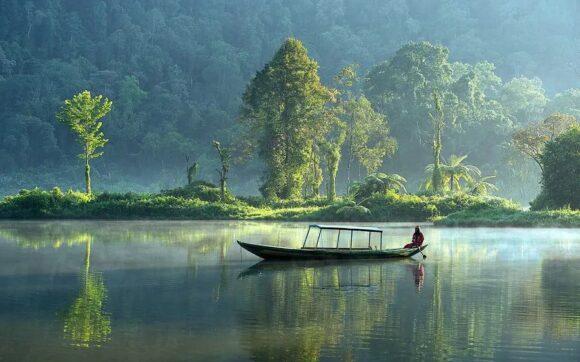 hình ảnh đẹp về cảnh bình yên ở chốn núi rừng