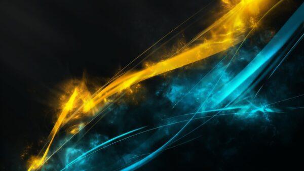 hình ảnh desktop những vệt sáng màu sắc