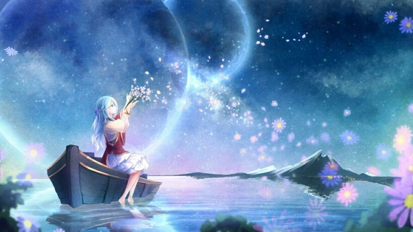 hình ảnh galaxy anime