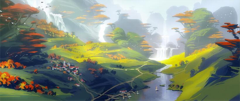 Hình ảnh minh họa 4K chủ đề thiên nhiên