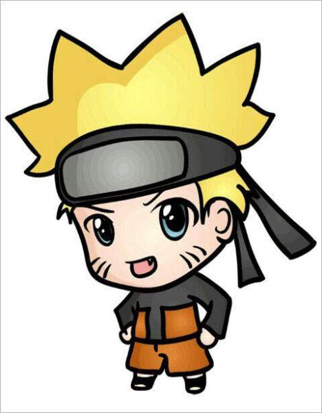 Hình ảnh Naruto chibi cute
