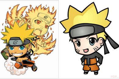 Hình ảnh Naruto chibi đẹp nhất