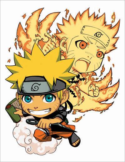 Hình ảnh Naruto chibi đẹp