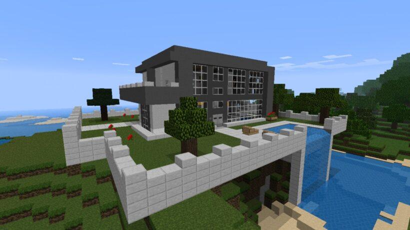 hình ảnh nhà trong minecraft