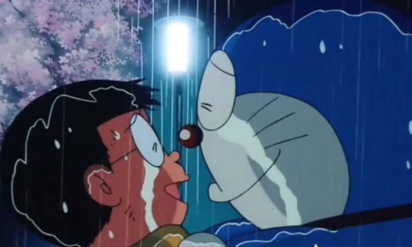 hình ảnh nobita khóc