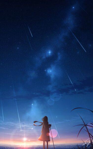 hình ảnh phong cảnh anime cho điện thoại