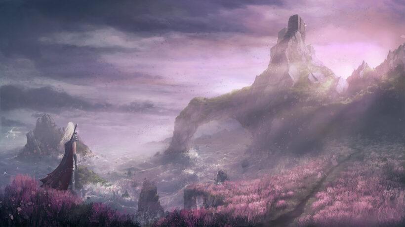 hình ảnh phong cảnh anime HD
