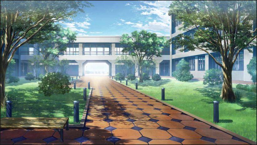 hình ảnh phong cảnh anime trường học đẹp nhất