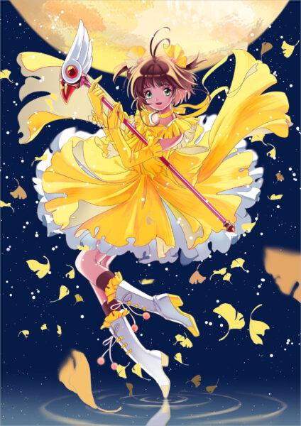 hình ảnh sakura thủ lĩnh thẻ bài đẹp nhất (1)